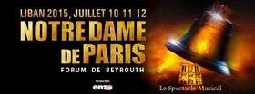 Dominique Sappia au Liban avec la comédie musicale Notre-Dame de Paris