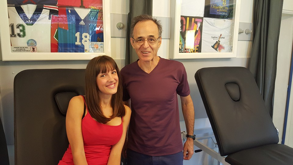 Stephanie Furfaro (L'Ile de la Tentation 6) & Jean-Jacques Goldman