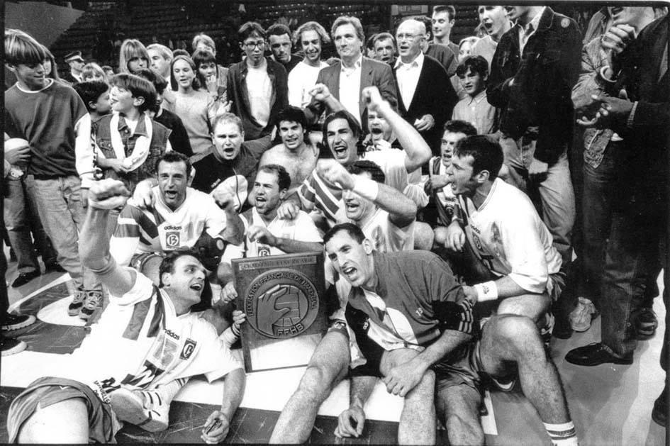 OM-Vitrolles Handball. Champion de France 1993-1994