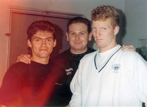 Jim Courrier & François Gressot. Trophée Alcatel. Marseille 1991