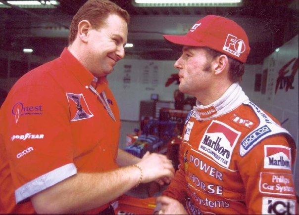 Jos Verstappen. Arrows Formula 1. 1998
