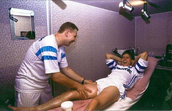 Olympique de Marseille. Dragan Stojkovic 1990.