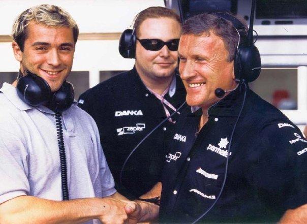 Thomas Castaignède & Tom Walkinshaw. 1999