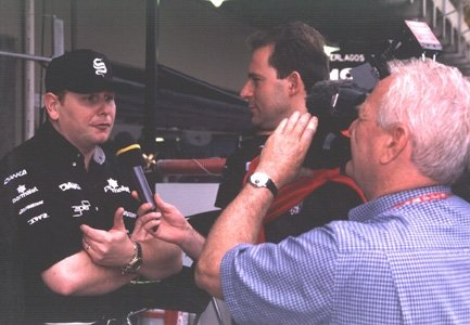 Interview Auto-Moto TF1. Marc Minari 1999