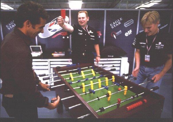 Pedro Diniz & Mika Salo. Arrows Formula 1. 1998