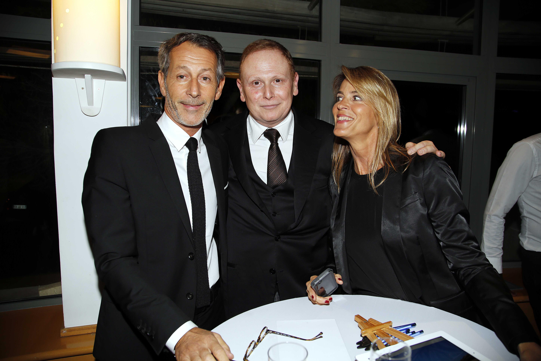 Claude Perrier (PDG La Provence) & Nathalie Simon. 2014
