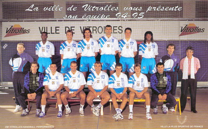 OM-Vitrolles Handball. Champion de France 1994-1995